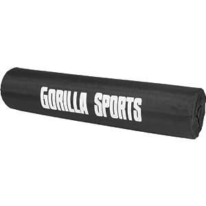 Gorilla Sports Nackenpolster Stütze für Hantelstange, One size, 10000458