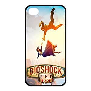 Bioshock Irrational Games Custom TPU Case Cover Protective Skin For Iphone 4 4s iphone4s-NY1169