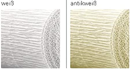 CREATIV DISCOUNT/® NEU Floristen Krepp-Papier 50x250cm Maigr/ün