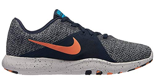 001 Basses Sneakers Glow Femme blue Trainer Print 8 obsidian Multicolore Nike Flex Pulse orange W pqx6Y