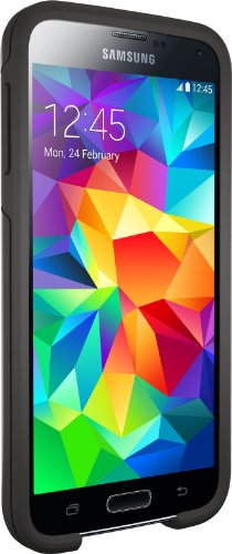 Otterbox SYMMETRY SERIES for Samsung Galaxy S5 - Retail Packaging - BLACK