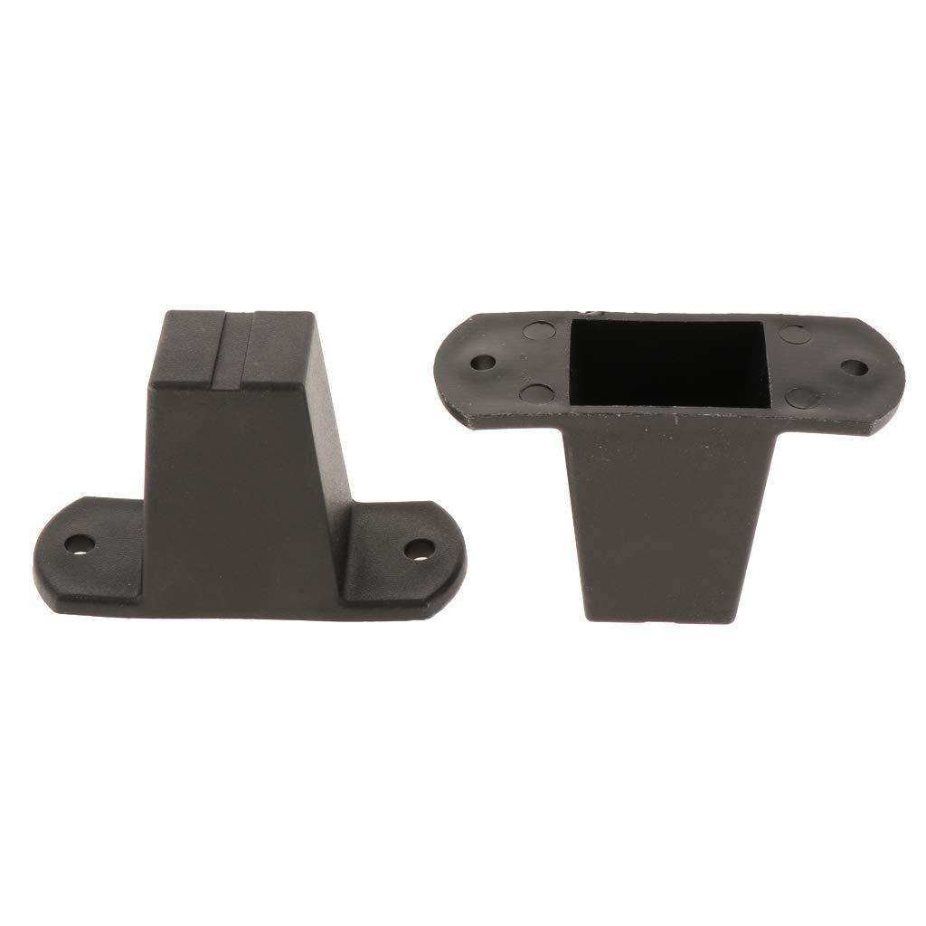 Tipo #A perfk 2pcs Tornillo de Montaje de Pl/ástico de Equipaje Pies Pad Negro Adecuado para Todas Maletas
