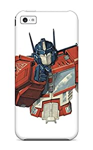 Flexible Tpu Back Case Cover For Iphone 5c - Transformers