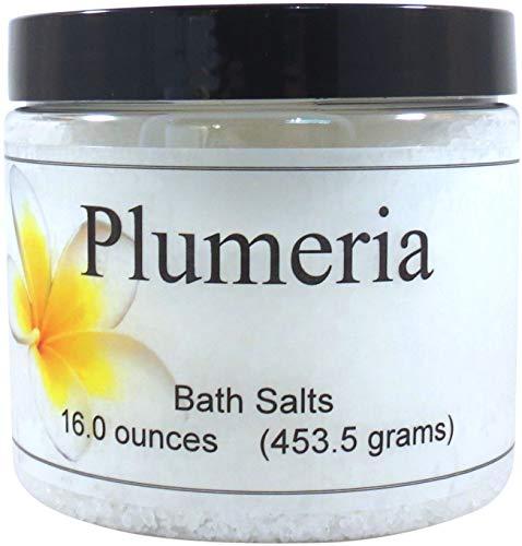(Plumeria Bath Salts, 16 ounces)