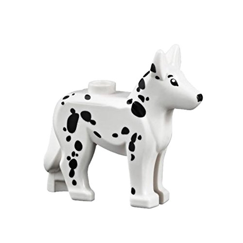 LEGO Animals White Dog with Dalmatian Pattern Loose Accessory [Loose]