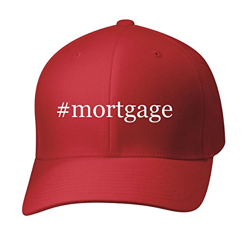 Bh Cool Designs  Mortgage   Baseball Hat Cap Adult  Red  Large X Large