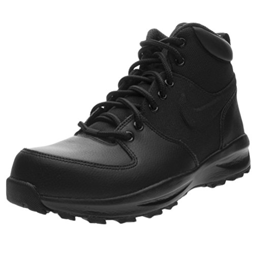 Nike Manoa Black/Black-Black (GS) (7 M US Big Kid) (Nike Boots Kids)