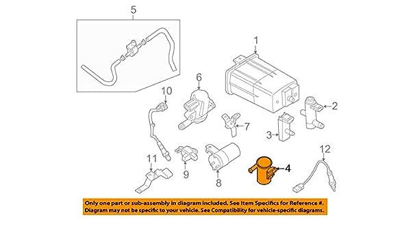 Genuine Nissan 14953-ZP70C Vapor Canister Filter