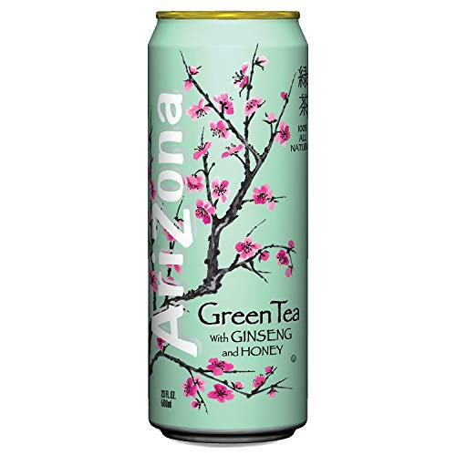 Arizona Green Tea, 23-Ounces (Pack Of 24) (Diet Green Tea Arizona)