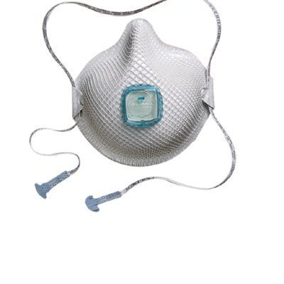 Moldex 507-2731N100 2730 Series Handystrap N100 Particulate Respirators, Non-Oil Filter, Small, White (Pack of 5) by Moldex
