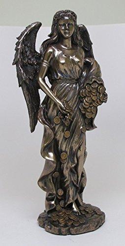PTC 11.5 Inch Goddess Fortuna Roman Mythology Resin Statue Figurine