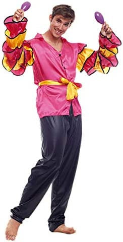 Disfraz Rumbero Hombre (Talla M) (+ Tallas) Carnaval Mundo: Amazon ...