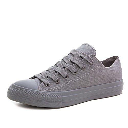 Top Sneaker High Schuhe Damen Turnschuhe Herren All Klassische Low Unisex Grey wYq0BRS
