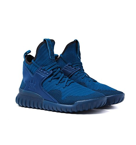 Adidas Originali Tubular X Pk Mens Hi Scarpe Da Ginnastica Alte Scarpe Blu (tecste / Tecste / Cblack S80131