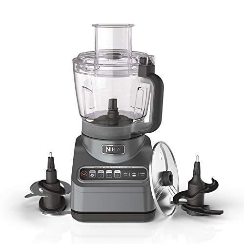 Ninja BN601 Professional Plus Food Processor 1000-Peak-Watts with Auto-iQ Preset Programs Chop Puree Dough Slice Shred…