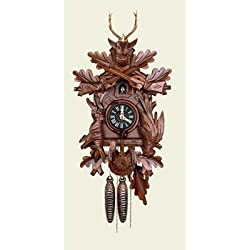 Orignal Hand Carved Cuckoo Clock with One Day Movement 22 Inch