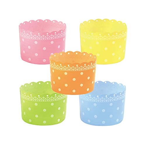 Welcome Home Brands 500 Piece Free-Standing Plastic Baking Cups Assortment by Welcome Home Brands
