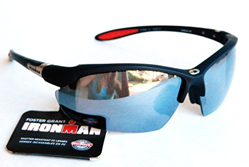 Foster Grant Iron Man ADRENALINE Sunglasses (1057) 100% UVA & UVB Protection-Shatter - Ray Ban Riding Glasses