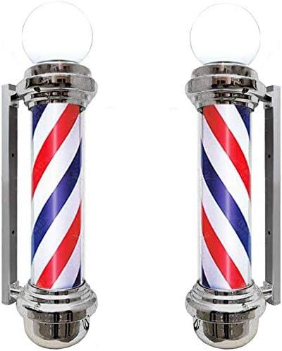 De poste del peluquero peluquería tira lámpara impermeable con Top ...