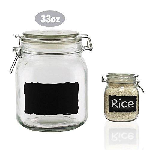 mason jar with chalkboard label - 8