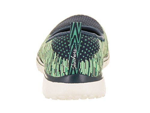 Perfect Skechers Note Perfect Skechers Microburst Green Womens Casual Navy Navy Casual Note Shoe Womens Shoe Microburst Green XwPA71q