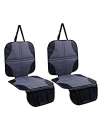 Ohuhu 2-Pack Baby Child Car Auto Carseat Seat Protector Cover Dog Mat Vehicle Cover With Organizer BOBEBE Online Baby Store From New York to Miami and Los Angeles