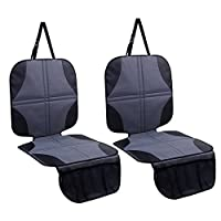 Ohuhu 2-Pack Baby Child Car Auto Carseat Seat Protector Cover Dog Mat Vehicle...