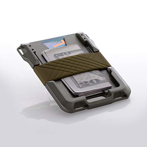 Dango M1 Maverick Spec-Ops Wallet - Black DTEX/OD Green - Made in USA