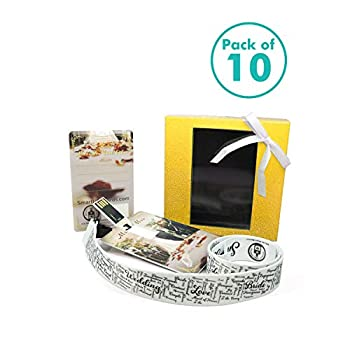 Image of 10 Pack TVM.Bio Smart USB Wedding Card with USB Flash Drive to Gift Precious Moments & Memories - NFC Greeting Cards to Quickly Share Link & More - Package Includes 1 Wedding Gift Card 1 Lanyard-1 Box Computers & Accessories