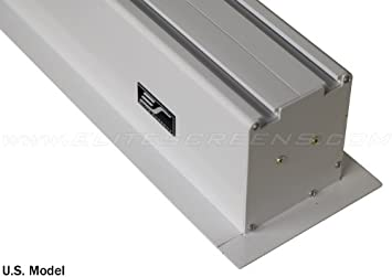 IHOME110C-E24 Elite Screens Evanesce 110-inch 2.35:1 Recessed In-Ceiling Electric Projection Projector Screen