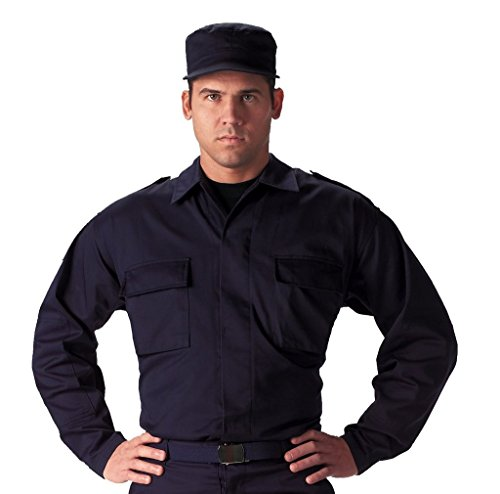 Navy Blue Bdu Shirt - 9