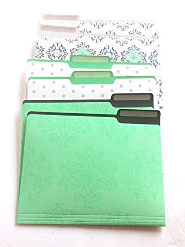 Divoga Palace Design File Folders (set Of 6)