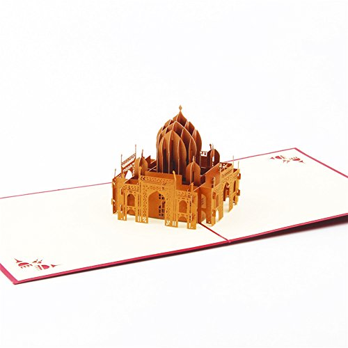Mosque Sultan Ahmet Camii 3D Pop Up Greeting Cards Anniversary Baby Birthday Easter Halloween Mother's Father's Day New Home New Year Thanksgiving Valentine Wedding Christmas