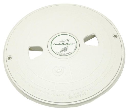 Zodiac 3-3-101 White Deck Canister Lid Replacement for Zodiac Polaris Leaf-B-Gone In-Floor Pool Cleaning System by Zodiac