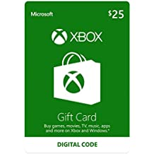 25 Xbox Gift Card - [Digital Code]