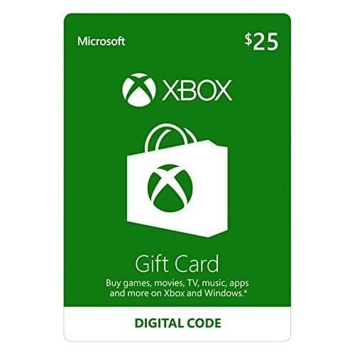 25 Xbox Gift Card [Digital Code]