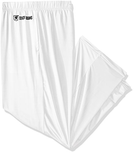 Stacy Adams Men's Big and Tall Sleep Pant, White, 3XL