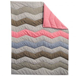 Cocoa Coral 3 Piece Crib Bedding Set for Baby Girl by TippyToesNYC (Image #3)