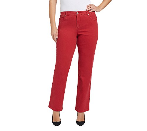(Bandolino Plus Size Mandie Updated Back Pocket Jeans Apple Spice)