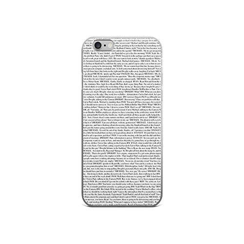 iPhone 6/6s Pure Clear Case Cases Cover The Office Pilot Episode Script]()