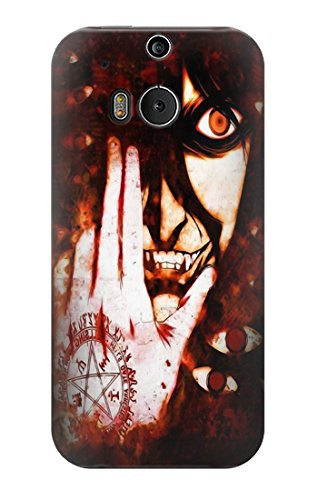 S2026 Hellsing Alucard Dracula Case Cover For HTC ONE M8
