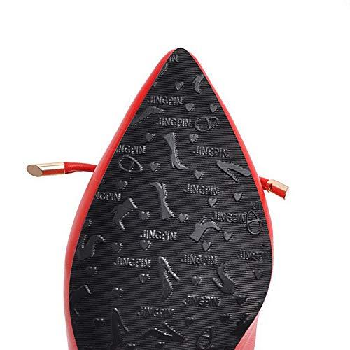 Compensées Femme 36 BalaMasa 5 Sandales APL10622 Red Rouge qOwzax