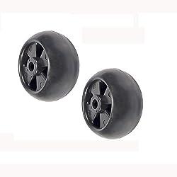 (2) Deck Wheel Rollers for John Deere 320 322 325
