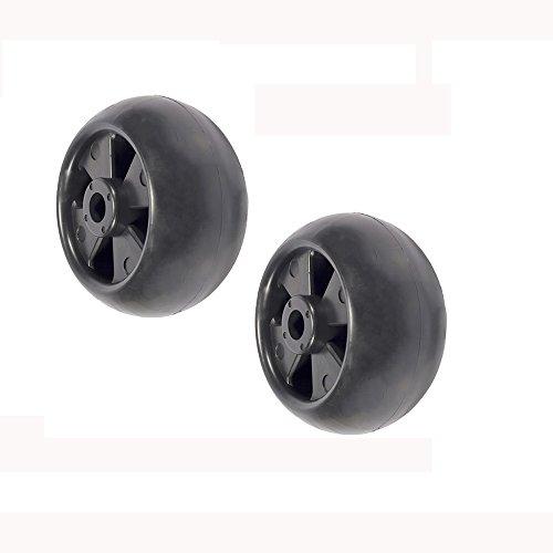 (2) Deck Wheel Rollers for John Deere 717A 717E 727A 737 757 777 797 - 777 John Deere Parts