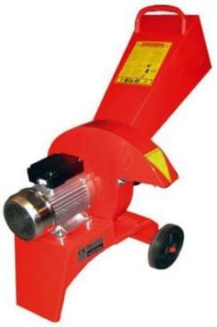 Caravaggi Bio 40 E - Triturador eléctrico (2200 W, diámetro 4 cm)