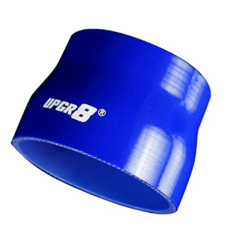 Upgr8 Universal 4-Ply High Performance Straight Reducer Coupler Silicone Hose to 1.5 , Blue 1.25 32MM 38MM