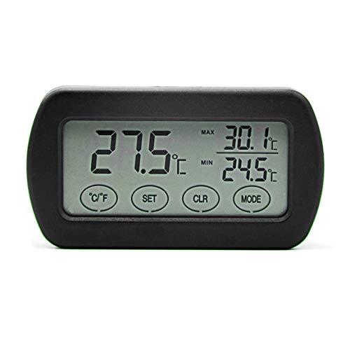Fantasyworld Pequeña Pantalla LCD táctil de Pantalla de Digtal Incubadora del Huevo termómetro higrómetro Medidor de medición de la Humedad de la ...