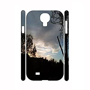 Custom Travel Series Sunset Patern Durable Hard Plastic Phone Skin For Samsung Galaxy S4 I9500 by supermalls