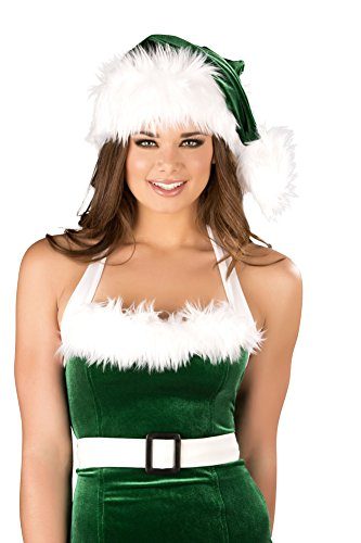 (Fur Trimmed Hat Costume Accessory)