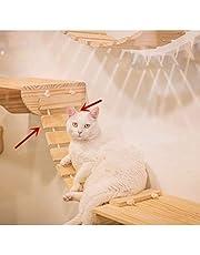 Tardo Wall Wood Cat Climber Cloud Shelf Board Mounted Cat Perch Kitten Climber Tree,Cat Ladder